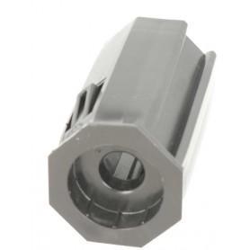 Embout PVC pour tube octo de 40 pour roulement Ø28 mm
