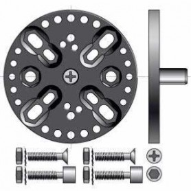 Support pour moteur SOMFY LT50/60 CSI avec pion 12 mm