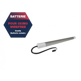 Batterie SOMFY pour moteurs OXIMO WIREFREE II