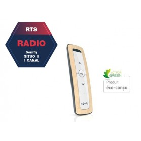 Télécommande SOMFY Situo 1 RTS natural II