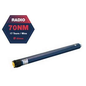 Moteur radio SOMFY ALTUS 60 RTS - Ø60 mm - 70 Nm - 17 tr/mn