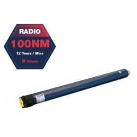 Moteur radio SOMFY ALTUS 60 RTS - Ø60 mm - 100 Nm - 12 tr/mn