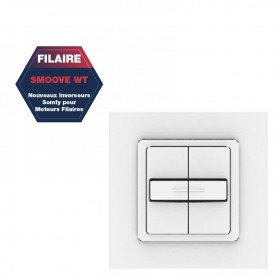 Inverseur Somfy filaire WT - SMOOVE DUO PF