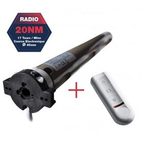 Moteurs radio JOLLY/ENJOY MOTOR type JE avec télécommande - 20NM