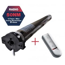 Moteurs radio JOLLY/ENJOY MOTOR type JE avec télécommande - 50NM