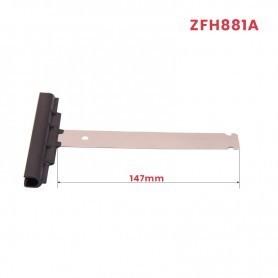 Attache tablier à clipper, Lg 147 (pour lame ép. 14 mm)