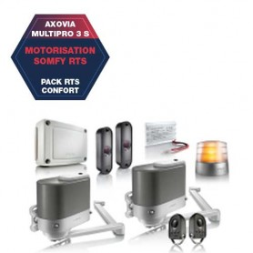 Motorisation SOMFY AXOVIA Multipro 3 S - RTS Confort
