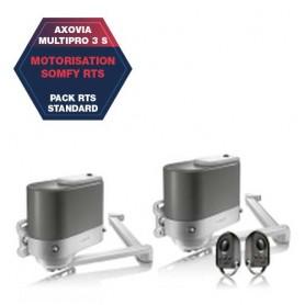 Motorisation SOMFY AXOVIA Multipro 3 S - RTS Standard