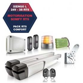 Motorisation SOMFY IXENGO L 3S RTS Confort