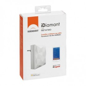 Interface domotique Bubendorff iDiamant with Netatmo
