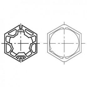 Adaptations pour Moteurs SOMFY / SIMU Ø 50 mm | Tube BUTZBACH HEXA 60x1,5