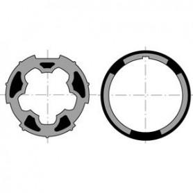 Bague d'adaptation LT 50 pour tube ATES DIAM.57