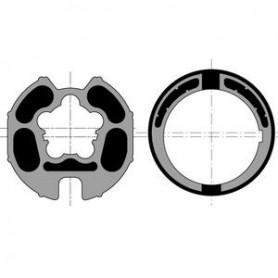 Bague d'adaptation Somfy LT 60 pour tube DIAM.78 / GOUTTE DIAM.14 maxi