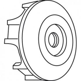 Kit Stop-Roue pour moteur SOMFY-SIMU LT60