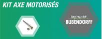 Nos axes de motorisation en kit BUBENDORFF pour volet roulant