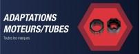 Adaptations moteurs pour tous types de moteurs de volets roulants : Somfy, Nice, Profalux