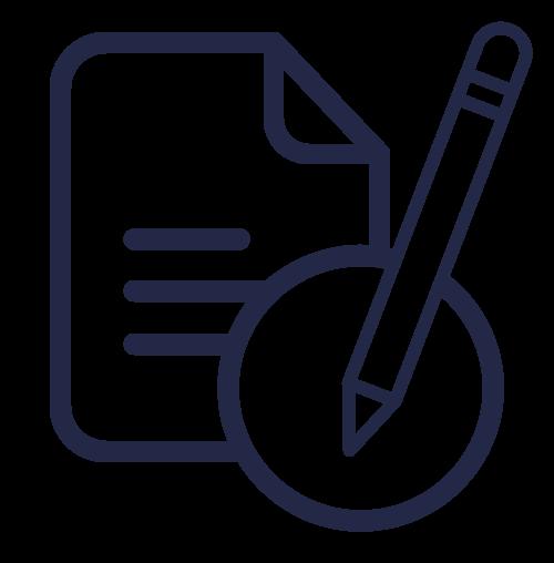 icone écrire un document